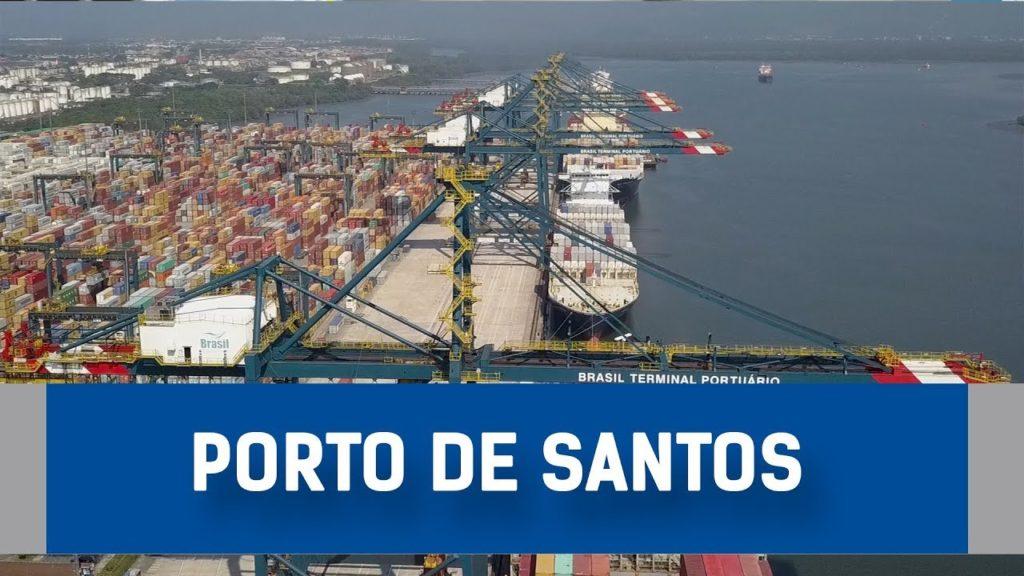 Nova poligonal do Porto de Santos