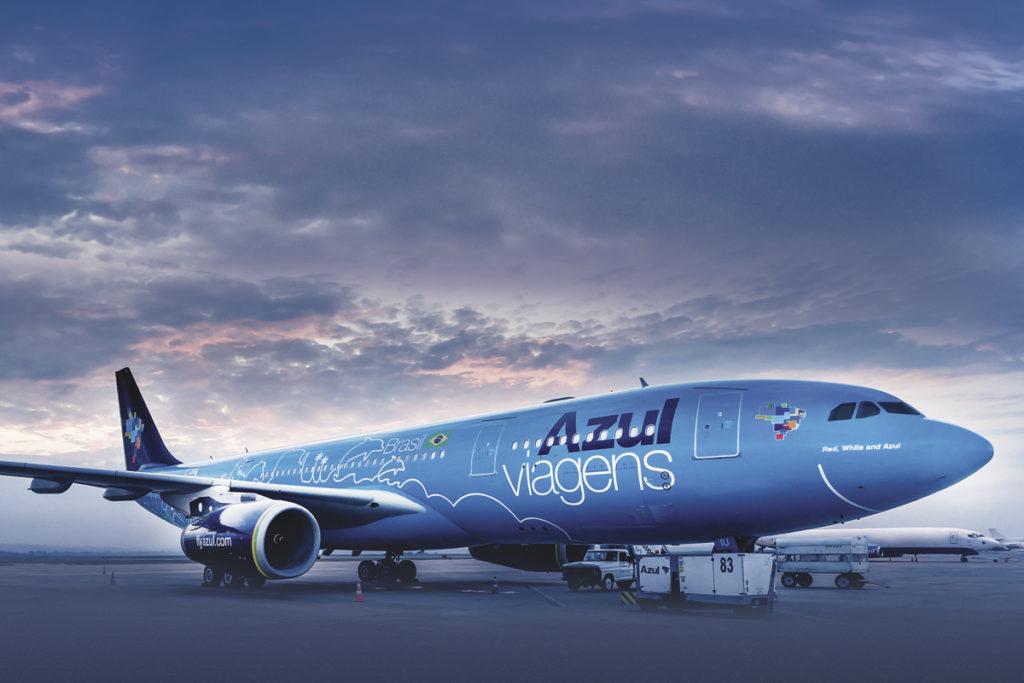 Aviões de passageiros da Azul