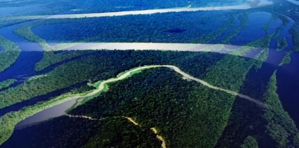 Vastidão fluvial brasileira