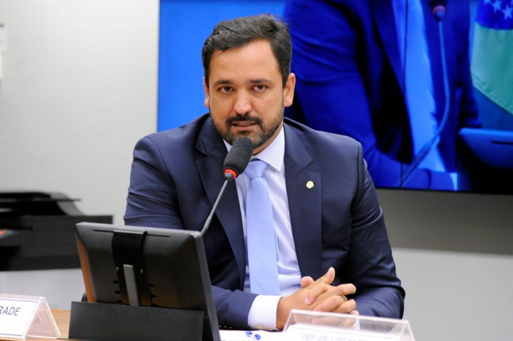 Deputado Diego Andrade, um dos líderes do Congresso