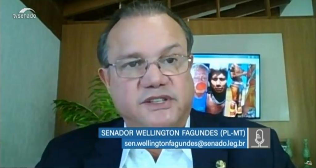 Relatório do senador Wellington Fagundes