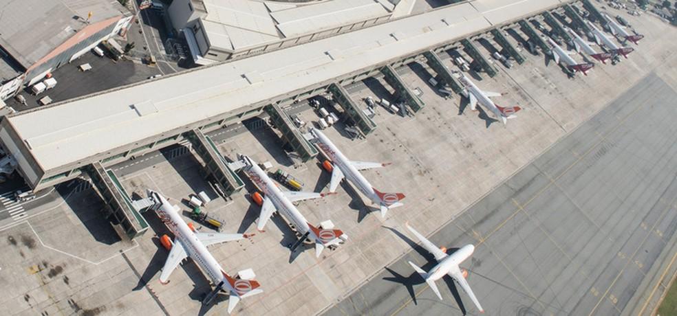 Setor aéreo brasileiro registra melhor mês desde o aparecimento da Covid-19 no país